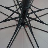 A alta qualidade colore o guarda-chuva reto do golfe com frame do vidro de fibra