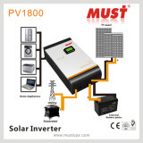 <Must>のHigh Efficiency 5kVA DC 48VへのHome Solar SystemのためのAC 220V Pure Sine Wave Solar Inverter