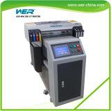 CE goedgekeurd A2 UV Flatbed Printer Opgetuigd Van PRO 4880C Printer Opgetuigd van met acht kleuren voor USB Card, Raad van het Teken