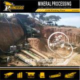 金鉱山洗浄装置の水門ボックス金の鉱石の洗浄プラント