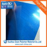マットPVCシート印刷のための青いPVCによって浮彫りにされるPVCシート