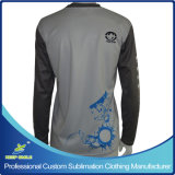 Custom Sublimation Printing Lacrosse Long Sleeve Shooter
