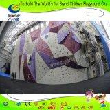 Parete esterna dell'interno di scalata di roccia della vetroresina di Chidren