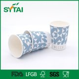 Non-Defrmation Offset Printing Design jetable Cheap Recycled Paper Cups
