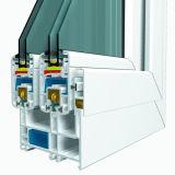 Ventana de aluminio - ventana del PVC