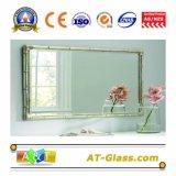 het Kleden zich van de Spiegel van de Badkamers van 1.88mm de Zilveren Spiegel van de Spiegel van de Veiligheid van de Spiegel