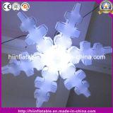 LED-helle aufblasbare Schneeflocke für Weihnachtsfeiertags-Dekoration