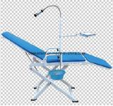 Beweglicher zahnmedizinischer Stuhl mit der Lampe und Spittoon (NEU)