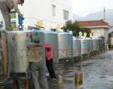 Tanque de mistura Jacketed do dobro sanitário do aço inoxidável (ACE-JBG-A)