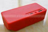Spreker van Bluetooth van de Kubus van het goedkope Water van het Hoofd silicone van de Regenboog Mini Draagbare Vierkante van Sprekers de Draadloze met Opvlammende Kleurrijke LEIDEN Licht