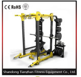 Sale/Exercise Sport Fitness Equipmentのための版Loaded Power Rack Tz6073/Power Cage Hammer Stength