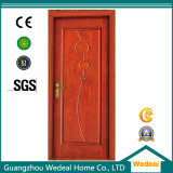 Porte composée en bois solide de l'intérieur MDF/Melamine