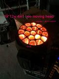 LED 꿀벌 헤드 (HL-003BM)를 이동하는 이동하는 맨 위 빛 19PCS 꿀벌 눈