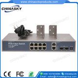 2 SFP 2 GE完全なギガビットPoeスイッチ(POE0822SFPB-3)が付いている8ポートPoeのスイッチ