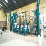 Máquina del molino de martillo de la amoladora del maíz de África que se ejecuta de 30t por 24h
