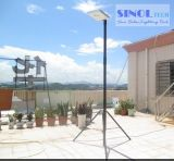 8W le jardin solaire solaire de réverbère de la haute énergie DEL s'allume (SNSTY-208)
