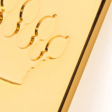 Тяга застежки -молнии золота способа высокого качества для застежок -молний