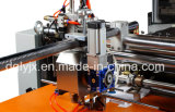 Máquina de posicionamiento visual para hacer la caja rígida que hace la máquina con la cinta de la esquina