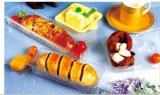 Caixa de bolo de pão de sobremesa de sushi de plástico descartável (fabricada na China)