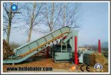 Máquina hidráulica de bala de palha de prensa hidráulica para usina de biomassa