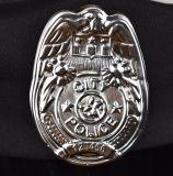 子供の警察の帽子は警察官の帽子のデザインの凝った服のHalloweenの用品類をからかう
