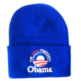 Beanie tricoté pour l'élection avec Nice le logo NTD010