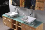 Wasserdichte Hauptmöbel MDF-hölzerne Badezimmer-Schrank-Eitelkeit
