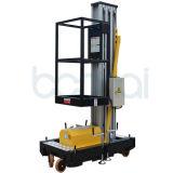 Einzelner Mast-hydraulischer Mann-Aufzug für 4 M