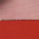 새로운 디자인에 의하여 돋을새김되는 PVC 소파 가죽 의자 가죽 (DS-A936)
