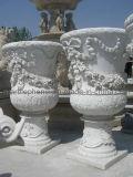 POT di fiore di pietra naturale del giardino (BJ-FEIXIANG-0054)