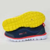 Schuhe der schneller Lieferanten-klassische Müßiggänger-PU+Mesh