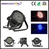 RGBW IP65 Waterproof Dual Bracket 54 * 3W LED PAR Cans Light