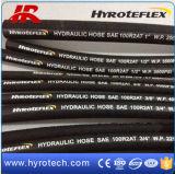 Tubo flessibile di gomma flessibile/tubo flessibile ad alta pressione della rondella/tubo flessibile idraulico