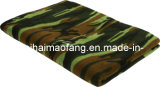 100%Polyester Polar Fleece Army 또는 Military Blanket