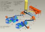 Máquina de molde do bloco da máquina Qt10-15 do bloco de cimento do cimento
