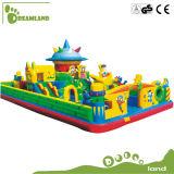 Do castelo inflável comercial do Bouncer da associação de água campo de jogos de flutuação, castelo de salto inflável