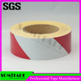 Somi Band Sh502 imprägniern Rot-Weißes Augenfälligkeit-Markierungs-Band für WARNING