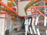 Línea de la pintura a pistola de polvo para los productos de metal