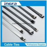 Banden van de Kabel van het Roestvrij staal van de nevel de Plastic met Ce RoHS