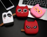 Batería linda de la potencia de la carga del regalo del teléfono móvil del demonio de la historieta de la expresión del gato de Meng Chao nueva