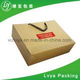 Faltbar Einkaufen-Papierbeutel mit Fabrik-Preis kundenspezifisch anfertigen