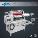 Cinta adhesiva y cortadora de la laminación de la película del PVC con el transportador