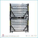 Het vouwen van de Barrière van Mojo van de Barrières van het Aluminium van de Barrière