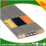 de Vlakke Reizende Slepende Kabel van de Lift 300/500V h05vvh6-F voor de Kraan van de Lift