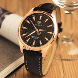 Водоустойчивое горячего wristwatch людей сбывания H369 роскошное с светящим вахтой указателя для людей