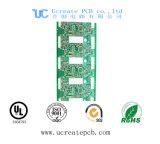 PCB золота погружения для GPS отслеживая модуль с зеленой маской припоя