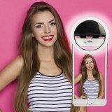 Luz de relleno ligera de la iluminación de Selfie del LED de la luz con clip portable del anillo para Smartphones