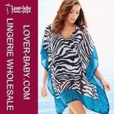 Платье пляжа печатание Богемии женщин (L38346)