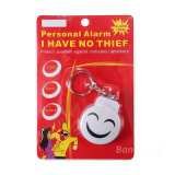 Cadeau de Noël Electronic Pull Pin Personal Attack Alarm Keychain