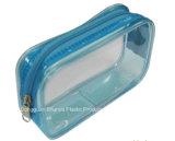 Bolso cosmético de la cremallera del bolso del embalaje del PVC
